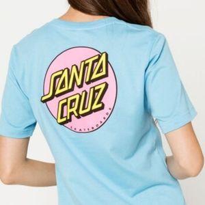 NWT women's Santa Cruz t-shirt